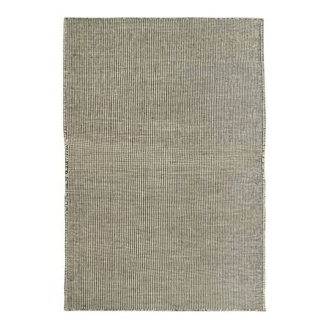 Rug Republic Ivory/Grey Nordic Wool Rug, 183x122cm