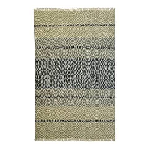 Rug Republic Ivory/Blue Nordic Wool Rug, 243x152cm