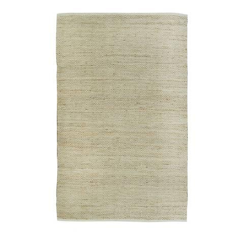 Rug Republic Ivory/Beige Nordic Wool Rug, 243x152cm
