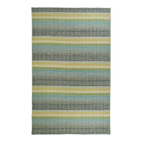 Rug Republic Green Multi Nordic Wool Rug, 230x160cm