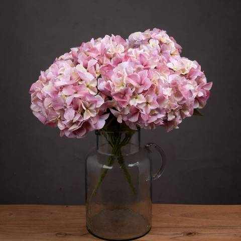 Hill Interiors Giant Pink Hydrangea