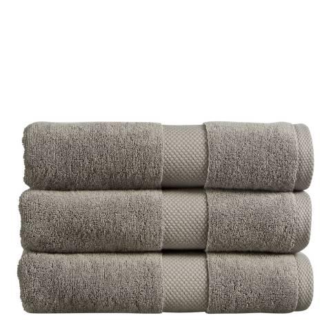 Christy Newton Bath Towel, Dove Grey