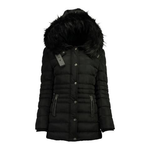 Canadian Peak Black Dall Hooded Jacket