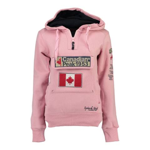 Canadian Peak Light Pink Gyrelle Hoodie