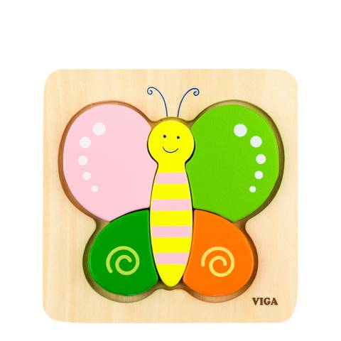 Viga Toys Mini Puzzle Butterfly