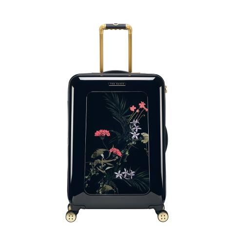 Ted Baker Black Take Flight Highland Medium 4 Wheel Suitcase