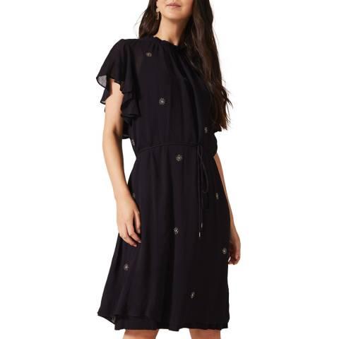 Phase Eight Navy Marcie Sparkle Dress