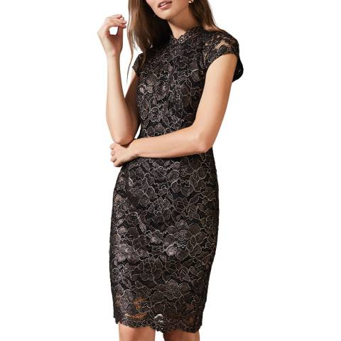 Phase Eight Rose Gold Jamie Lace Dress