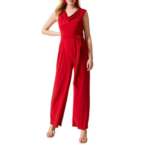 Phase Eight Red Jacqueline Jumpsuit