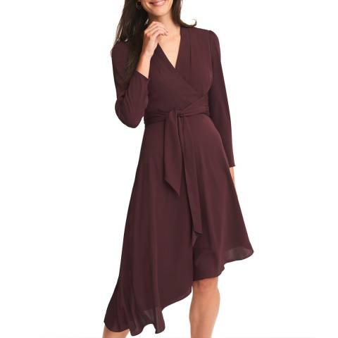 Phase Eight Deep Red Justine Dress