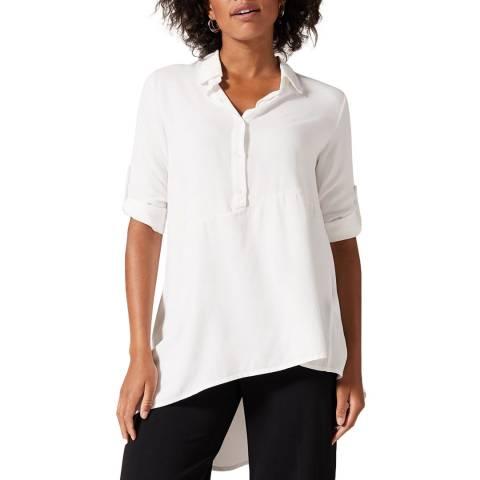 Phase Eight White Liadan Shirt