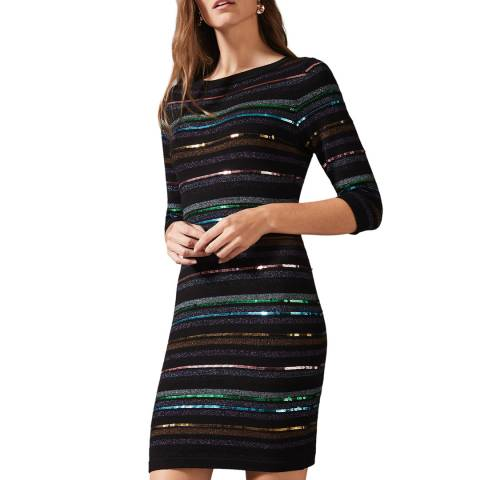 Phase Eight Multi Sequin Jesse Dress