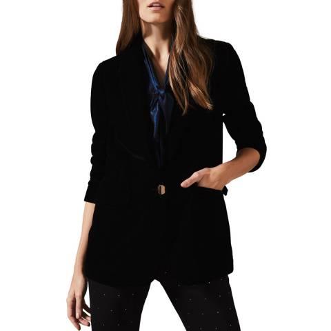 Phase Eight Black Aylin Velvet Jacket