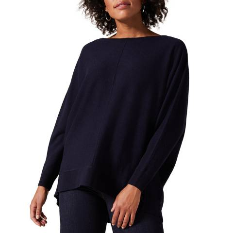 Phase Eight Navy Eve Cashmere Blend Jumper