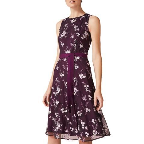 Phase Eight Purple Emily Dress