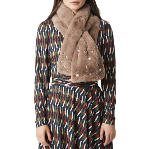 JayLey Collection Multi Faux Fur Scarf