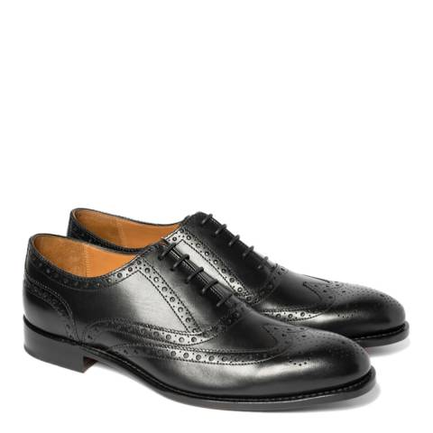 Chapman & Moore Black Sussex Leather Oxford Shoes