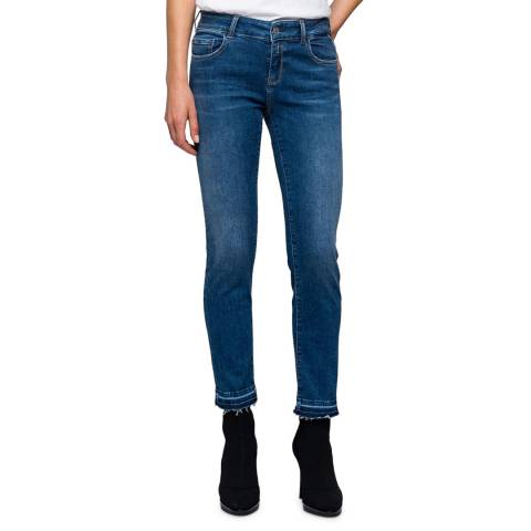 Replay Blue Fabby Slim Stretch Jeans