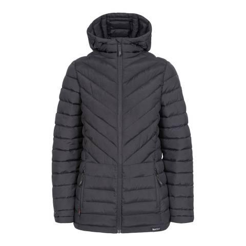 Trespass Black Althea DLX Eco Range Jacket
