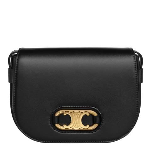 Celine Black Maillon Triomphe Bag
