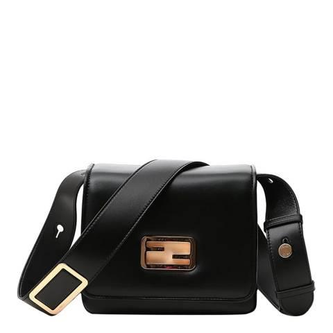 Fendi Black ID Small Shoulder Bag