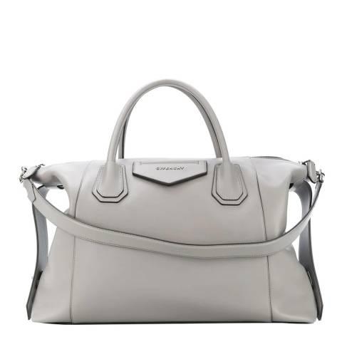 Givenchy Grey Medium Antigona Soft Tote Bag