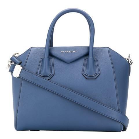 Givenchy Midnight Blue Medium Antigona Structured Tote Bag