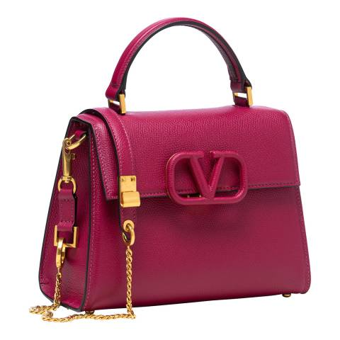 Valentino Garavani Raspberry Pink Small VSLING Bag