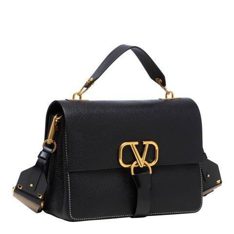 Valentino Garavani Black VRING Bag