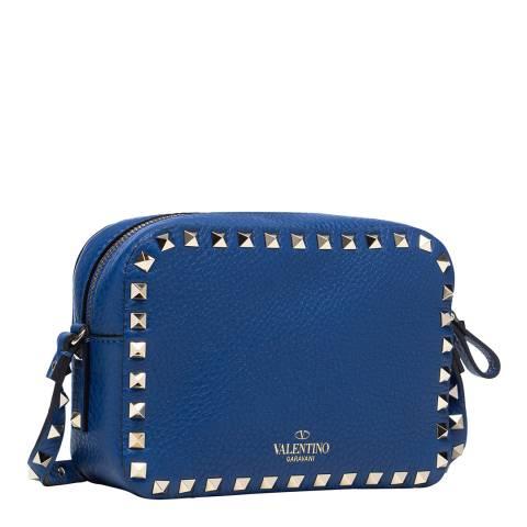 Valentino Garavani Blue Rockstud Crossbody Bag