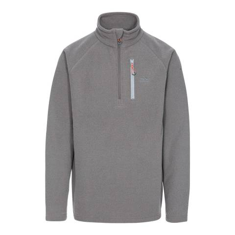 Trespass Grey Structual Fleece Top