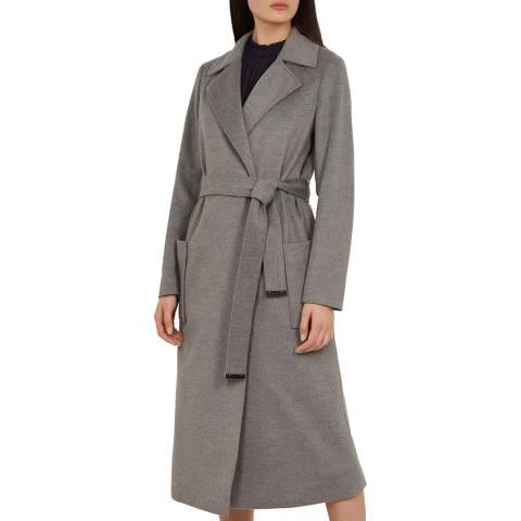 Ted Baker Grey Joseete Wrap Coat