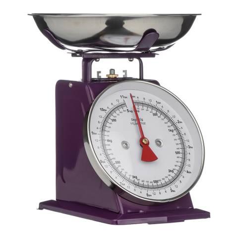 Premier Housewares Purple Kitchen Scale, 5kg