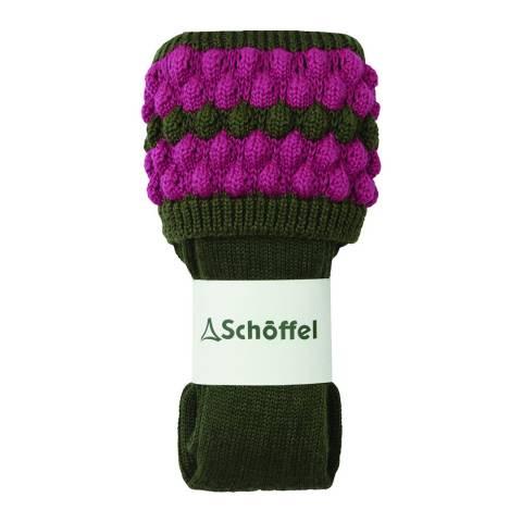 Schöffel Forest/Pink Ladies Bobble Sock