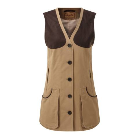 Schöffel Camel Ladies All Seasons Shooting Vest