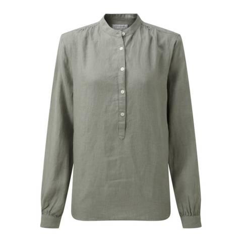 Schöffel Women's Green Athena Linen Shirt