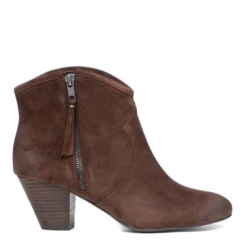 ASH Brown Jayce Bis Ankle Boots