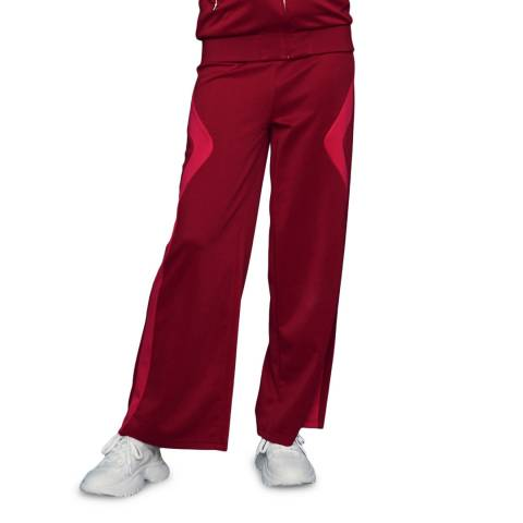 MAJE Deep Red Wide Joggers