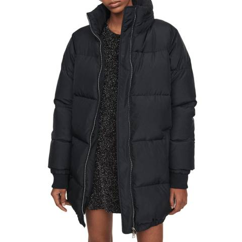 MAJE Midnight Griskelle Puffer Coat
