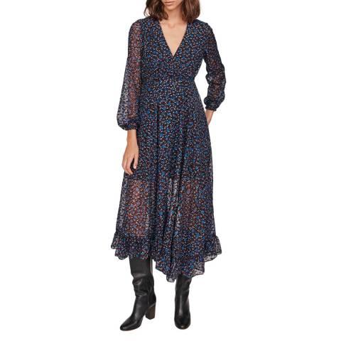 MAJE Multi Revana Printed Dress