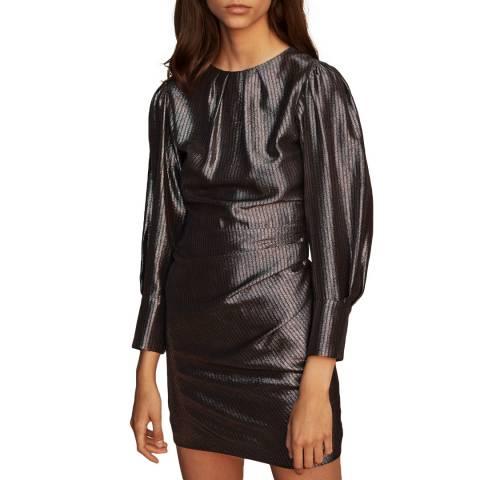 MAJE Grey Ralery Dress