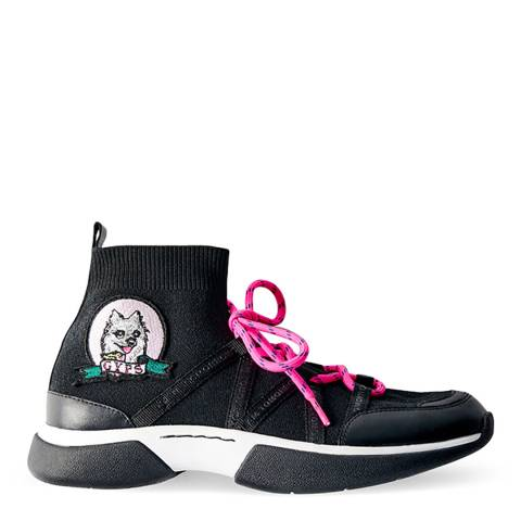 MAJE Black Fuite Gyps Sock Sneaker