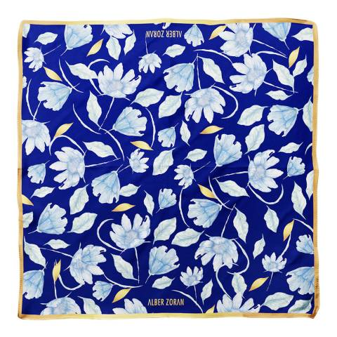 Alber Zoran Multi Floral Printed Scarf