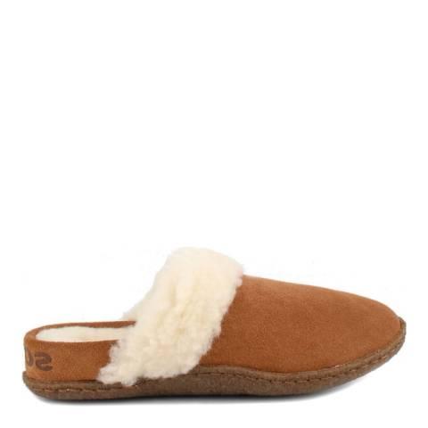 Sorel Camel Brown Nakiska Slide II Slippers