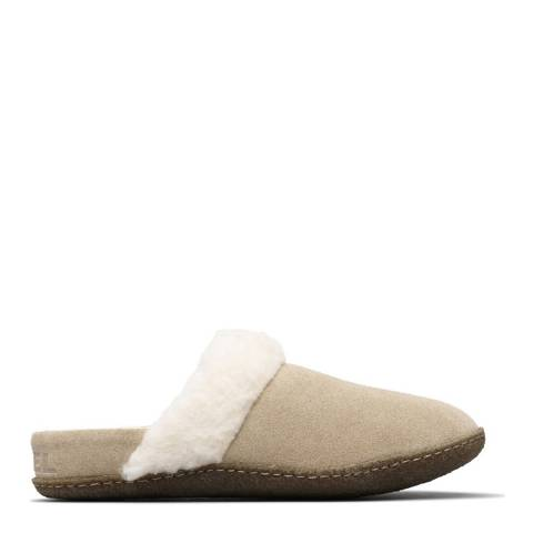 Sorel British Tan Nakiska Slide II Slippers