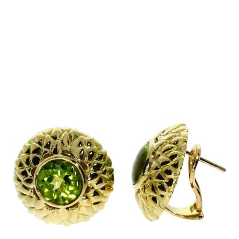 Theo Fennell 18ct Yellow Gold Sahara Stud Earrings