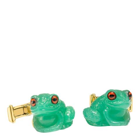 Theo Fennell 18ct Yellow Gold Frog Cufflinks