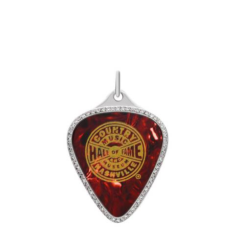 Theo Fennell 18ct White Gold Diamond Hall of Fame Plectrum Pendant
