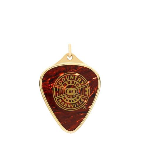 Theo Fennell 18ct Yellow Gold Hall of Fame Plectrum Pendant