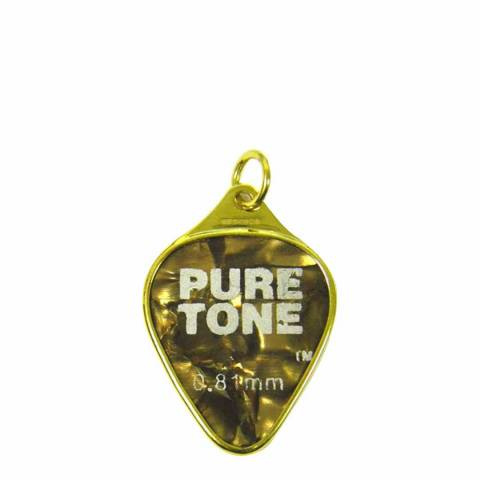 Theo Fennell 18ct Yellow Gold Brown Pure Tone Plectrum Pendant